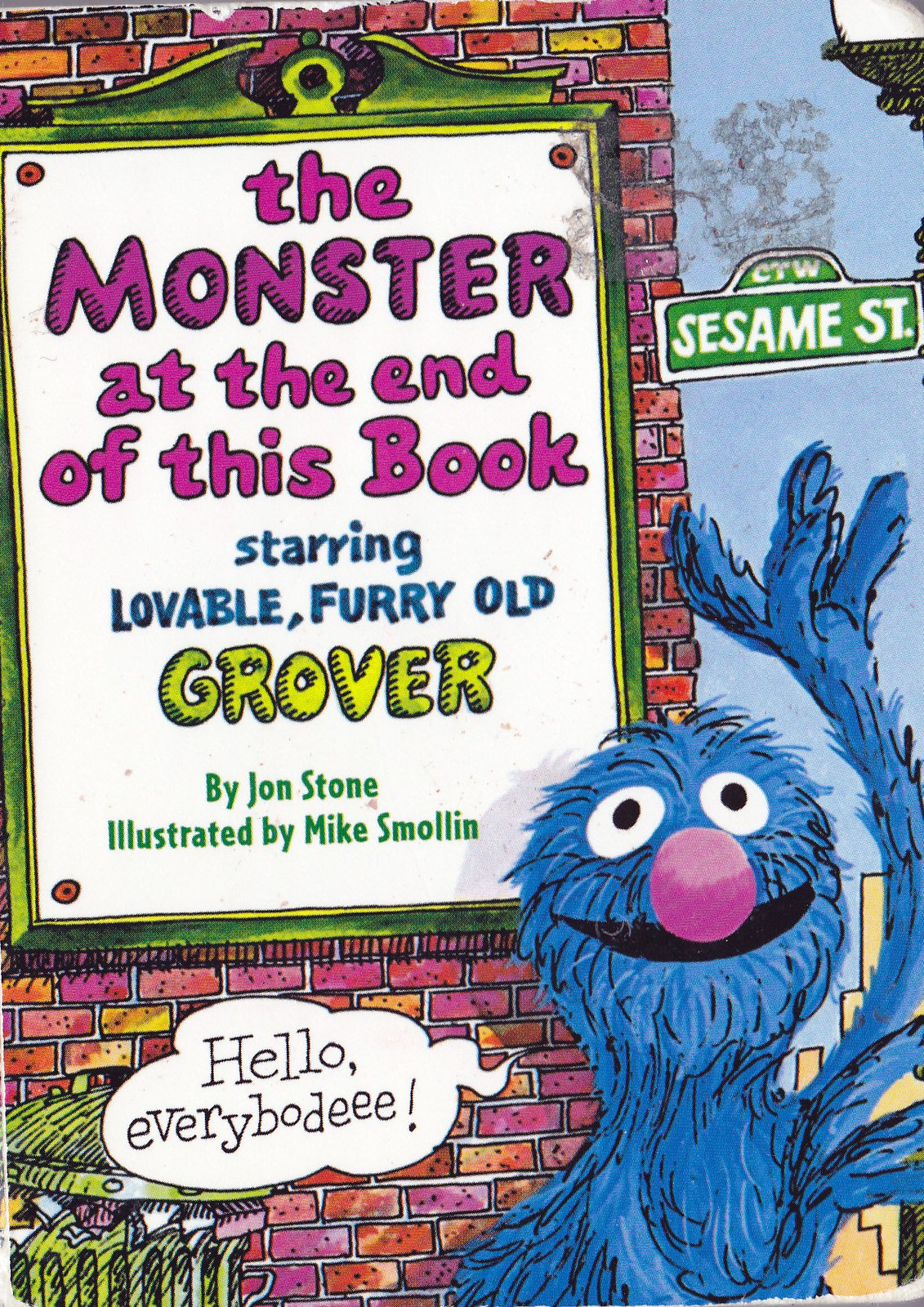 Vintage Books for the Very Young: The Monster at the End ...